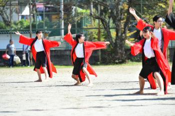 10月1日 村民体育祭に参加しました。