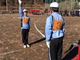 少年消防隊、とても立派でした!