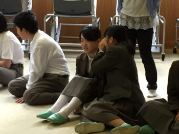 朝レク&全校朝集会(10/3)