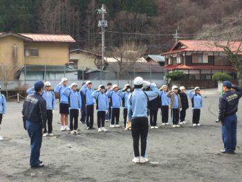 少年消防隊練習