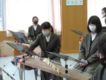 音楽授業(琴・尺八)