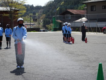 避難訓練(4月19日)