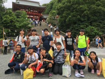 修学旅行 鶴岡八幡宮