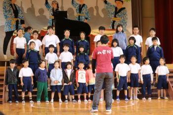 オープンスクール 合唱発表