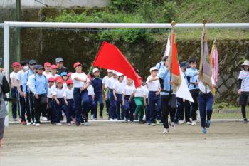 小中合同体育祭総練習