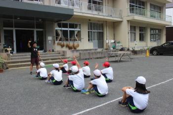 出前授業(体育の授業)